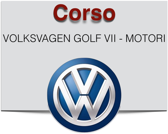 CORSO VOLKSVAGEN GOLF VII - MOTORI
